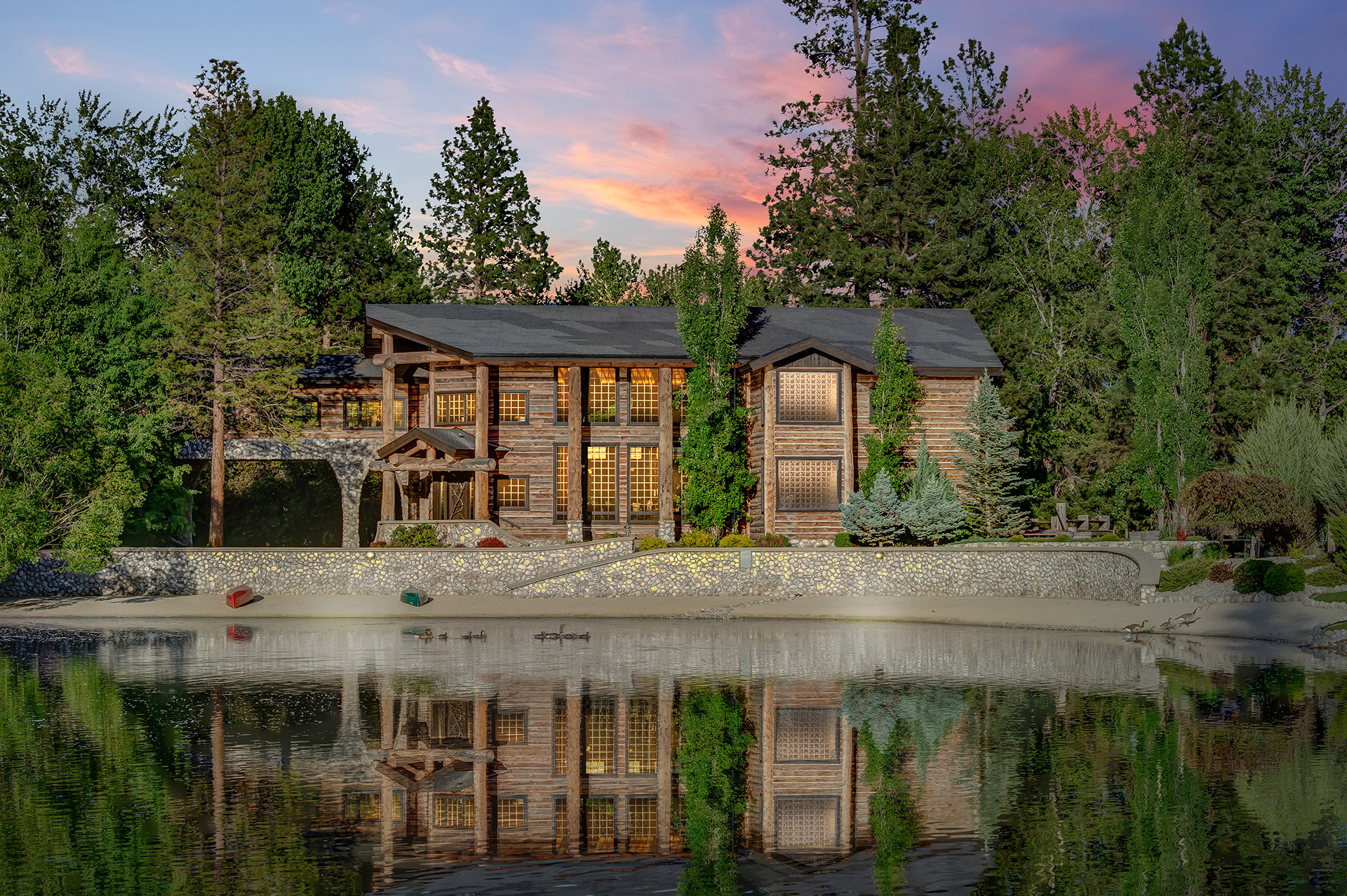 Cole bergquist rebecca donnelly luxury real estate for Montana ranch house